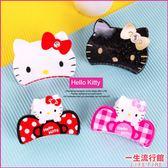 《新品》Hello Kitty 凱蒂貓 正版 大頭 髮夾 鯊魚夾 甜美 可愛 髮飾 E03005