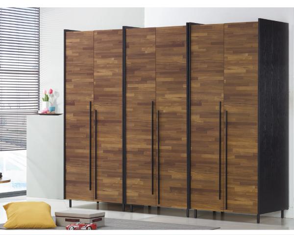 衣櫃【YUDA】畢卡索 2.6尺 雙色雙吊  衣櫃/衣櫥 J8F 028-2