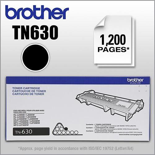 【多支有優惠】Brother TN-630(TN-2360)原廠標準容量碳粉匣~適用機型:MFC-L2700D.MFC-L2700DW