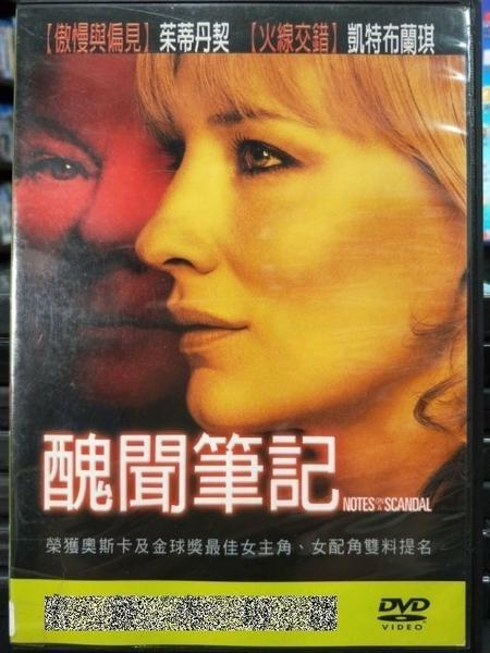 挖寶二手片-F09-015-正版DVD-電影【醜聞筆記】-凱特布蘭琪 茱蒂丹契 比爾奈伊(直購價)