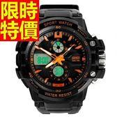 電子手錶-防水明星同款熱賣運動腕錶4色58j15[時尚巴黎]