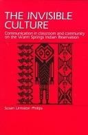二手書 The Invisible Culture: Communication in Classroom and Community on the Warm Springs Indian Rese R2Y 0881336947