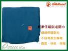 ╭OUTDOOR NICE╮荒野WILDLAND 輕柔PILE保暖圍巾 W2010 湖水藍 刷毛圍巾 不易產生靜電