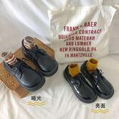 大頭鞋日韓學生原宿風軟妹小皮鞋女復古學院風單鞋百搭 巴黎時尚
