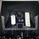 汽車通用太陽能警示燈改裝游俠燈裝飾警示燈帶爆閃LED遙控警示燈【潮咖地帶】
