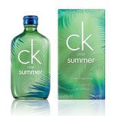 Calvin Klein CK one summer 2016 夏日限量版 中性淡香水 100ml【七三七香水精品坊】