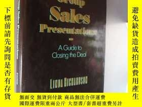 二手書博民逛書店Winning罕見Group Sales Presentatio
