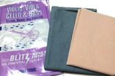 小叮噹的店- 提琴專用擦琴布  美國BLITZ NO.333  清潔布+上蠟布組合 DS99333