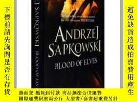二手書博民逛書店獵魔人1罕見Blood of Elves (Witcher Saga 1)英文原版 巫師1:精靈血 Andrzej