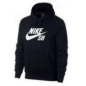 Nike SB Icon Hoodie [AJ9734-010] 男款 運動 健身 連帽 長袖 上衣 棉柔 黑