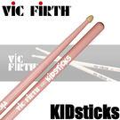 【非凡樂器】Vic firth kidsticks 胡桃木 兒童鼓棒『兒童專用』粉紅色