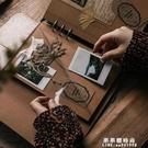 復古皮古文藝DIY手工活頁相冊本 創意黏貼式覆膜旅游紀念冊【果果新品】
