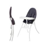 美國 Bloom NANO 可折疊都會風白框餐椅/摺疊餐椅-丹寧藍