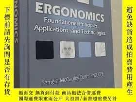 二手書博民逛書店Ergonomics:罕見Foundational Princi