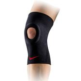 Nike Pro Open Patella AP [NMS55020XL] 運動 防護 支撐 開洞式 護膝 黑 XL