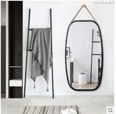 歐式貼牆方形鏡子壁掛穿衣鏡門廳全身鏡試衣鏡子落地鏡半身鏡掛鏡【大方鏡74cm長-43cm寬】