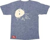泡泡老鼠(短袖) L【樂山教養院創作T恤】