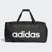 adidas 手提袋 Linear Core Duffel Bag 黑 白 男女款 行李袋 運動 訓練 包包 【PUMP306】 DT4819