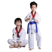 純棉成人兒童跆拳道服夏季春季男女