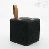 (現貨) NEW RIXING NR-1016 布藝藍芽手提音箱 迷你方形音箱 無線藍芽喇叭 - 黑色