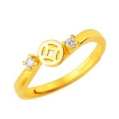 黃金戒指-錢滾錢(女)-GR426