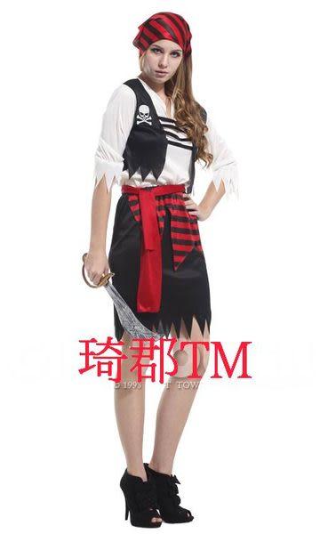 COS萬聖節舞會服裝 Female pirates 女海盜