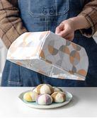 保溫菜罩           可折疊餐桌罩保溫菜罩飯罩蓋菜罩家用廚房防塵飯菜罩食物罩剩菜罩  瑪麗蘇