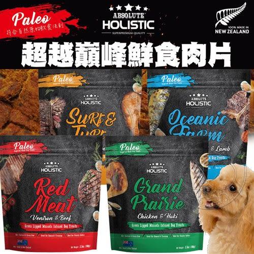 【zoo寵物商城】ABSOLUTE HOLISIC超越巔峰》鮮食肉片飼料狗糧-100g