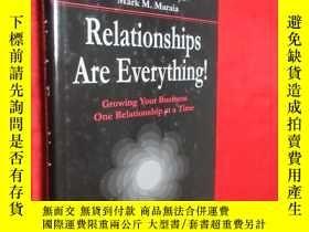 二手書博民逛書店Relationships罕見Are Everything!: