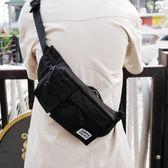 新款潮牌防水腰包男多功能胸包男韓版潮單肩斜背包學生小背包 范思蓮恩