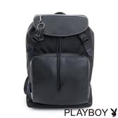 PLAYBOY- 後背包 TRENDY系列-雅痞黑