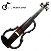 集樂城樂器 JYC SDDS-1604 彩繪琴身高級三段EQ電小提琴(木紋C款)