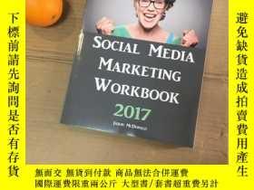 二手書博民逛書店Social罕見Media Marketing workbook