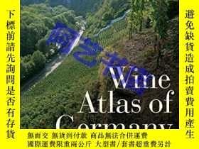 二手書博民逛書店Wine罕見Atlas of GermanyY331625 Di