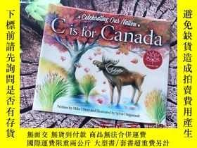 二手書博民逛書店英文原版字母書繪本:C罕見is for Canada 【橫16開精裝本】Y10323 Mike Ulmer a