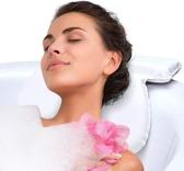 枕頭 浴缸浴枕浴室枕頭靠枕pu海綿洗澡頭枕帶吸盤通用型浴枕   ATF英賽爾3C數碼