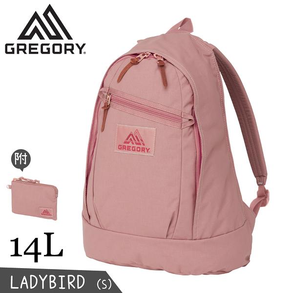 【GREGORY 美國 14L Ladybird Backpack S 後背包《玫瑰粉》】131371/雙肩背包/女生限定/休閒