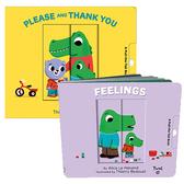 【套書禮品】PLEASE AND THANK YOU+FELLINGS /品格教育.情緒認知.兩款幼兒操作書