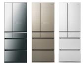 Panasonic國際牌日本製 600L六門 變頻冰箱 NR-F606HX 玻璃面板無邊框設計