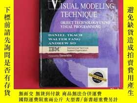 二手書博民逛書店ISUAL罕見MODELING TECHNIQUE OBJECT