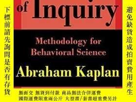 二手書博民逛書店The罕見Conduct Of InquiryY256260 Abraham Kaplan Transacti