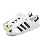 adidas 休閒鞋 Superstar Metal Toe W 白 金 女鞋 運動鞋 【ACS】 FV3310