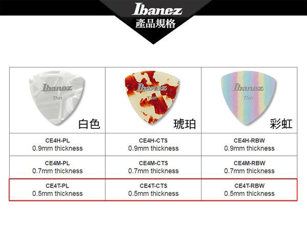 小叮噹的店 - PICK 彈片 IBANEZ 撥片 Thin 三角型 (CE4T)