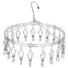 圓型不鏽鋼吊架(12夾)