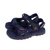 G.P (GOLD PIGEON) 阿亮代言 運動型 涼鞋 深藍色 男鞋 G1682-24 no411