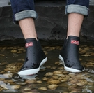 防水雨鞋男低筒短筒雨靴水鞋男士套鞋防水防滑釣魚橡膠鞋時尚秋冬保暖  快速出貨