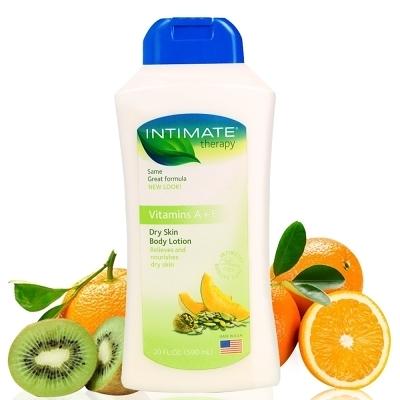 美國INTIMATE保濕潤膚乳液維他命A+E590ml