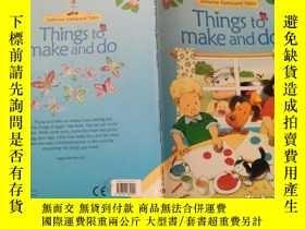二手書博民逛書店things罕見to make and do 做和做的事情Y200392