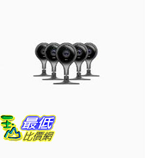 [8美國直購] Nest Cam Indoor 5-pack Bundle