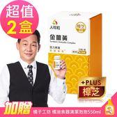 【人可和】 金薑黃-樟芝添加x2瓶(30粒/瓶)-買就送橘子工坊 橘油食器清潔泡泡550ml